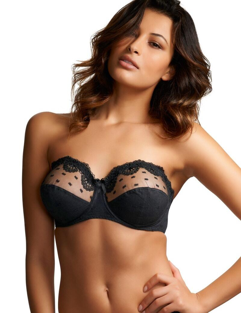 Fantasie Samantha : Strapless Bra - Black