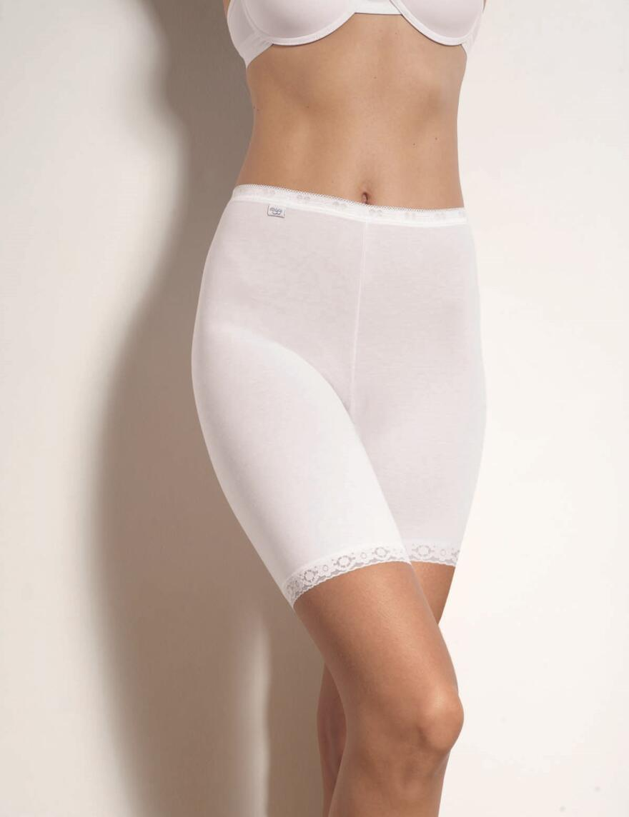 Sloggi Basic Long Briefs - White