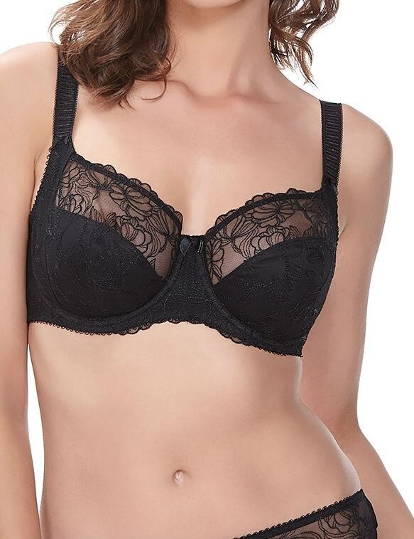 Fantasie Estelle: Side Support Bra - Black