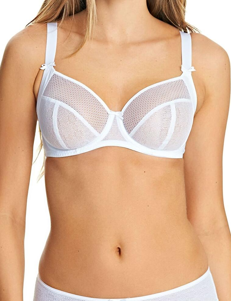 Freya Hero: Balcony Bra - White