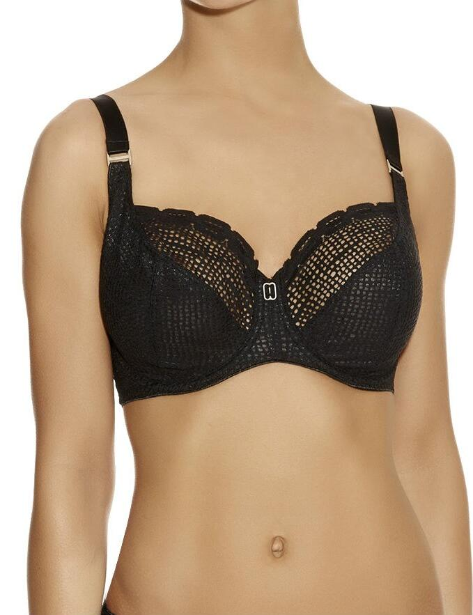 Freya Rio : Underwired Balcony Bra AA3510 - Black