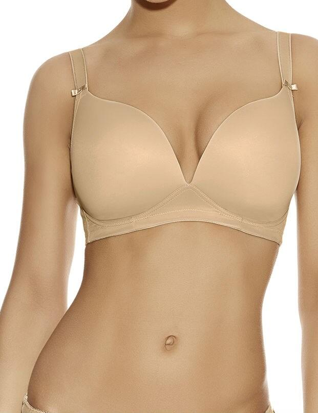 Freya Deco : Moulded soft cup T-Shirt Bra - Nude