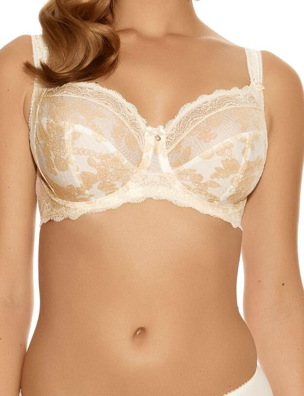 Fantasie Mae : Underwired Side Support Bra - Champagne