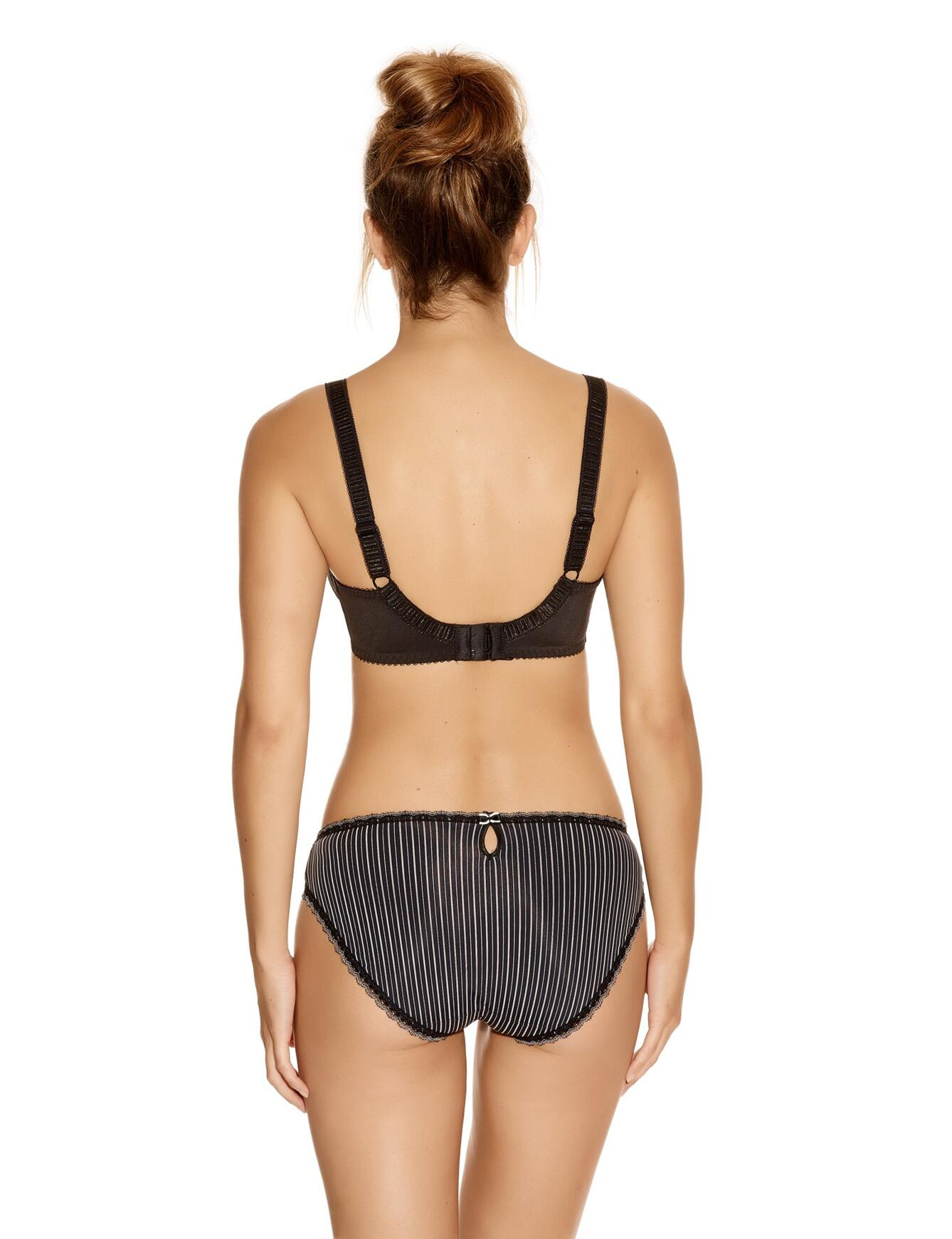 Fantasie Lois: Underwired with side support - Black