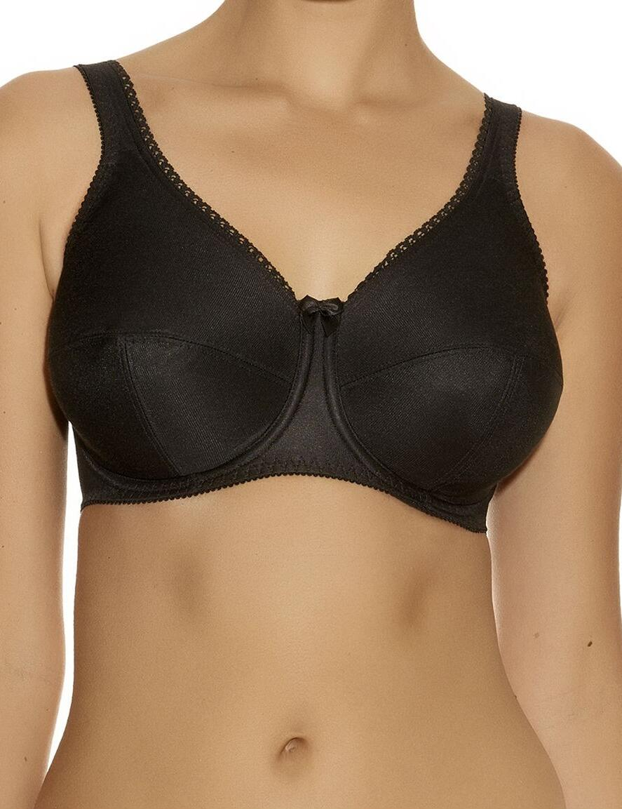 Fantasie Speciality : Smooth Underwired Bra-6500 - Black