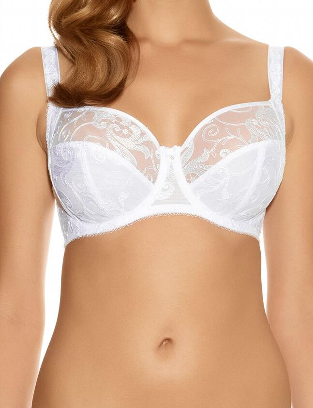 Fantasie Allegra: Side support Bra FL9092 - White