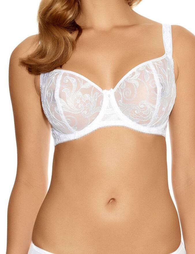 Fantasie Allegra: Vertical Seam Bra FL9091 - White