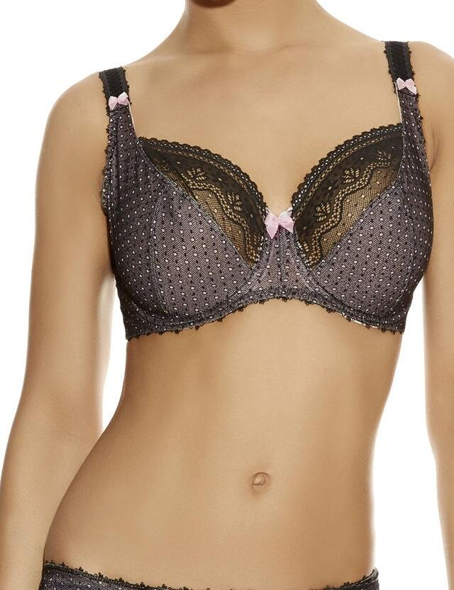 Freya Gem : UW Balcony Bra 50% OFF - Black