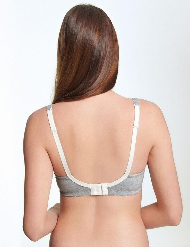 Royce: Chloe T-shirt non-wired Bra - Grey