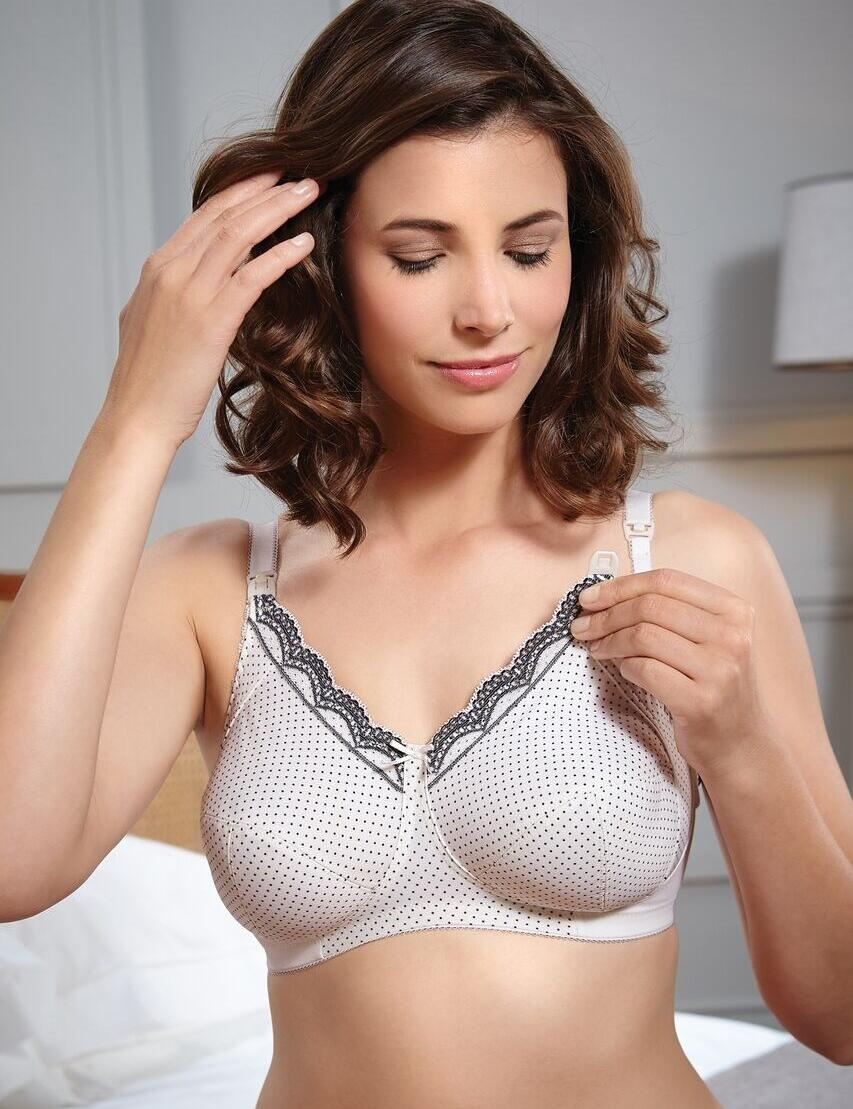 Royce: Ava Nursing Bra - Cream