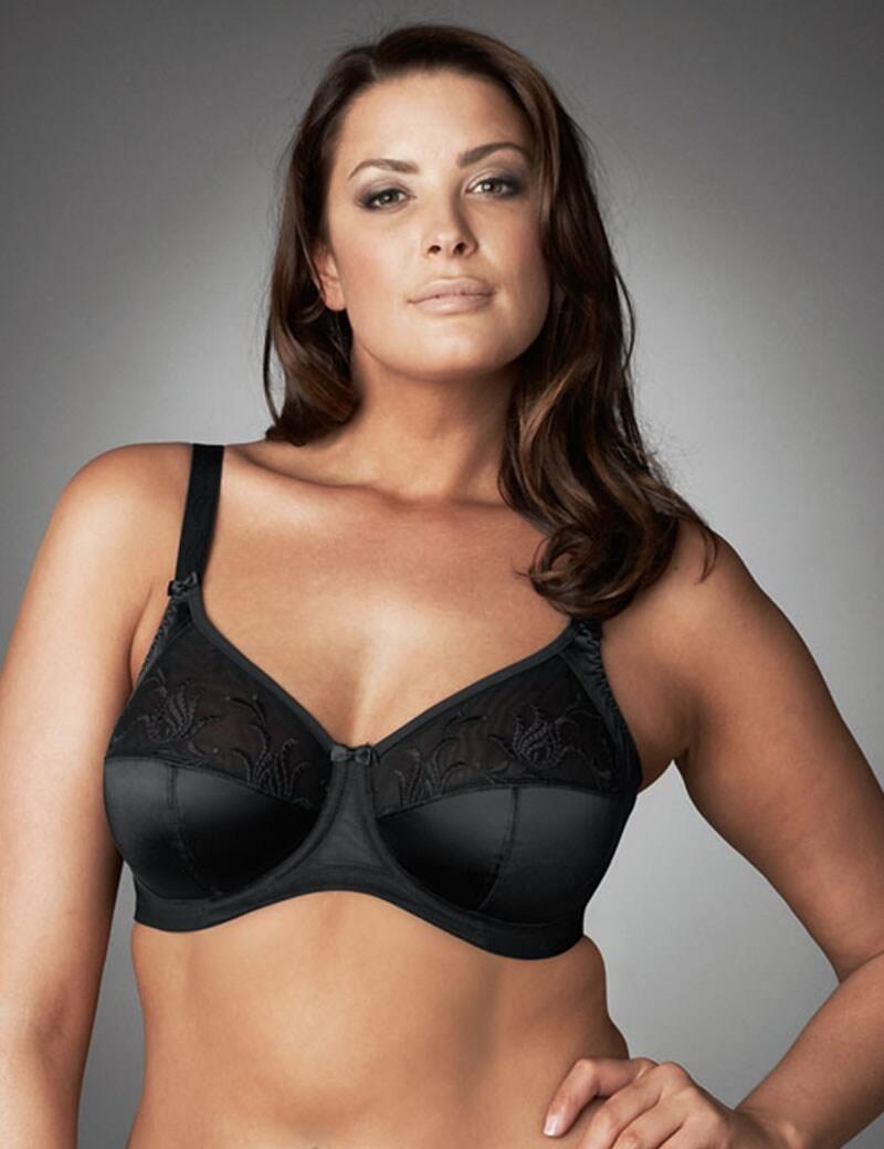 Elomi Caitlyn : Side Support Bra - Black