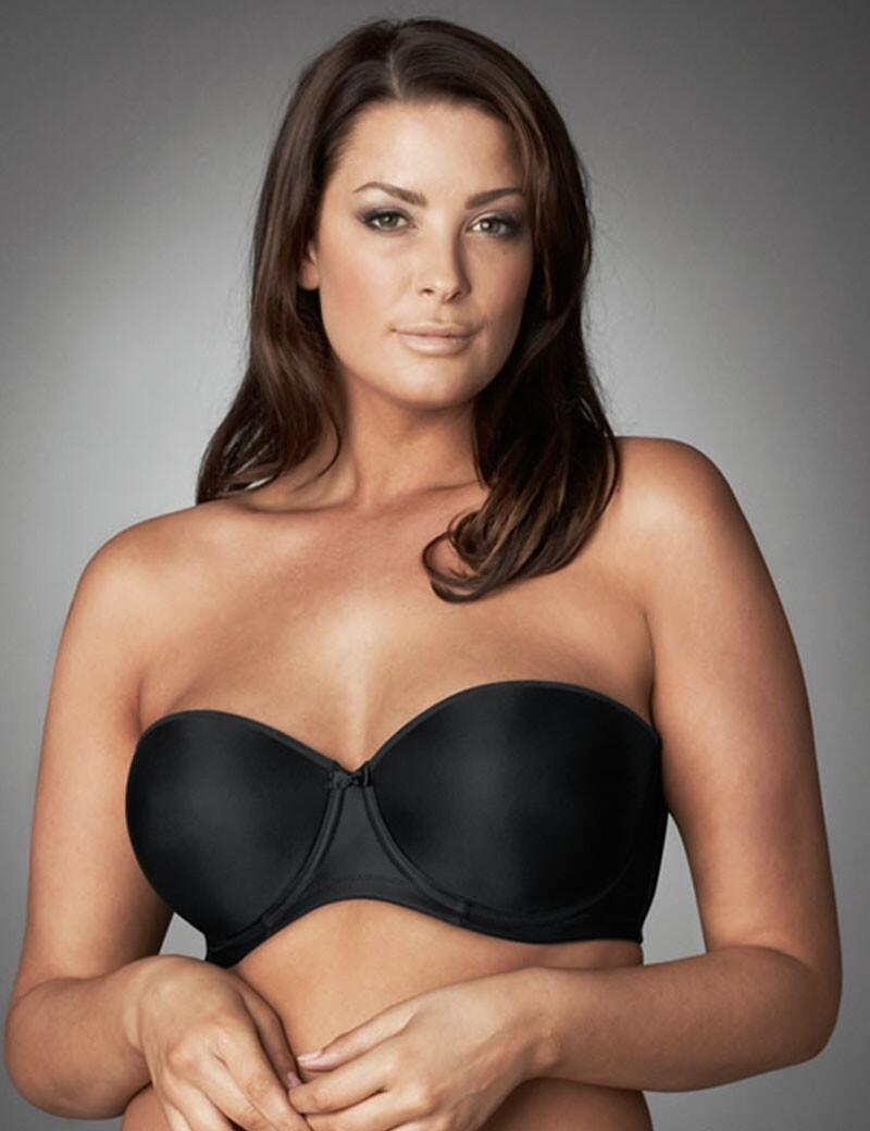 Elomi Smoothing : Foam Moulded Strapless Bra - Black