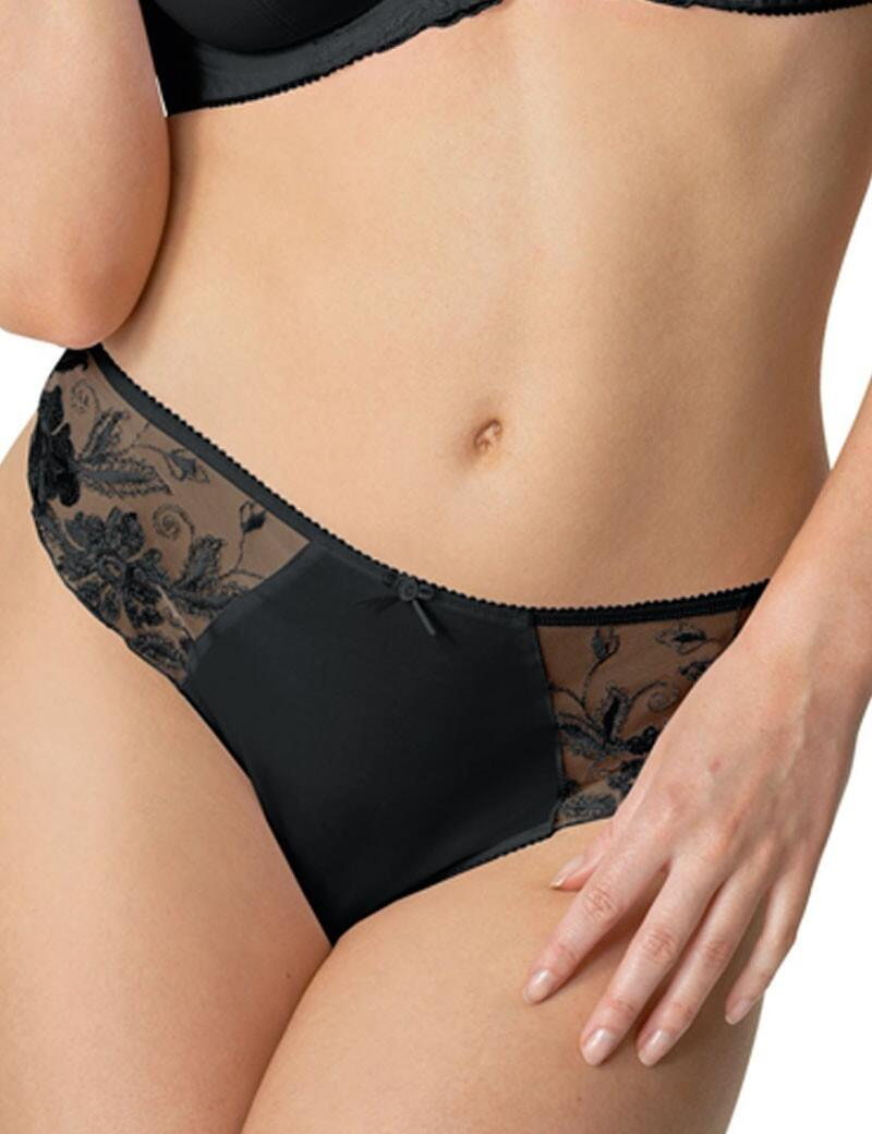 Fantasie Kara : Thong - OUTLET - Noir