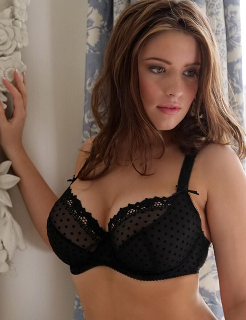 Curvy Kate Princess : Balcony Bra - Black