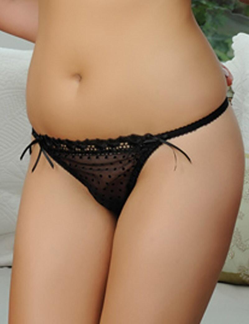 Curvy Kate Princess : Thong - Black