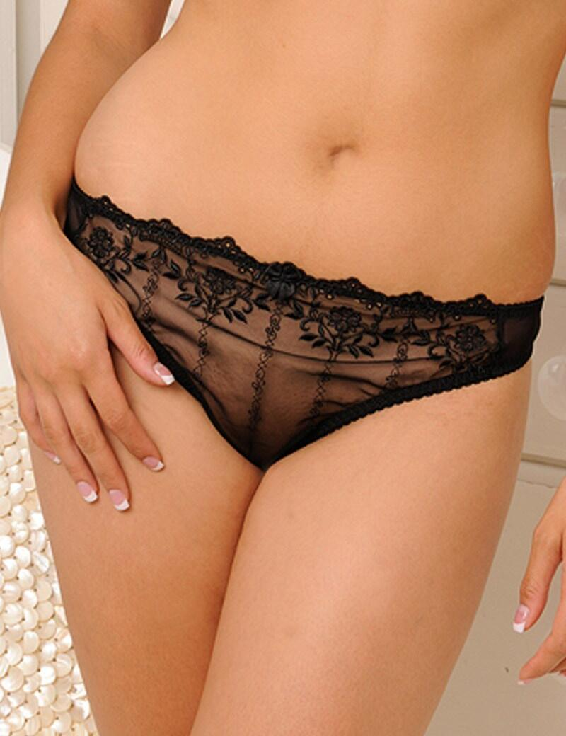 Curvy Kate Emily : Thong-OUTLET - Black
