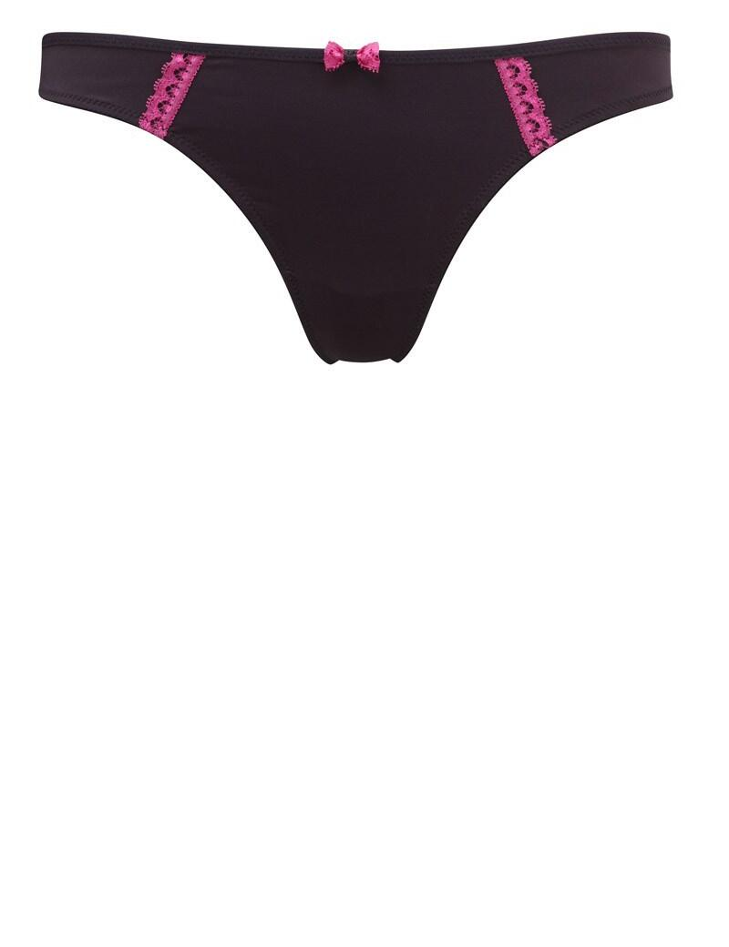 Cleo Jude : Thong-OUTLET - Black