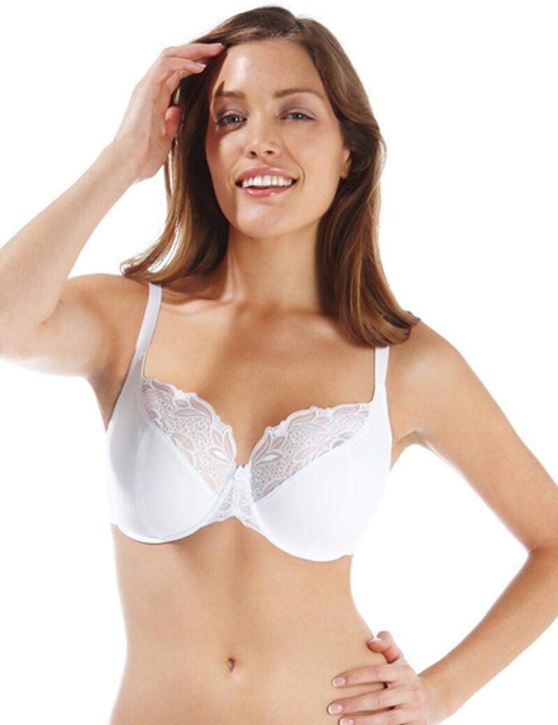 Panache Melody : Balconnet Bra- Outlet - White