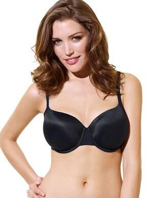 Panache Porcelain : Moulded Bra T-Shirt - Black