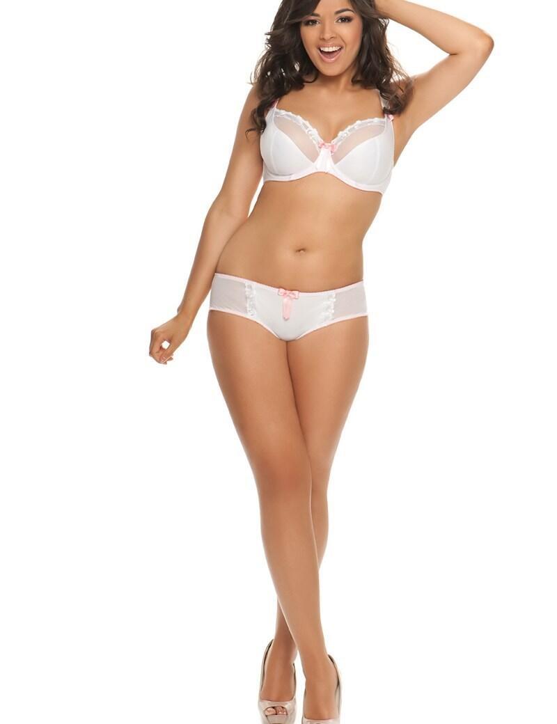 Curvy Kate Lottie : Balcony bra: Outlet 50% OFF - White