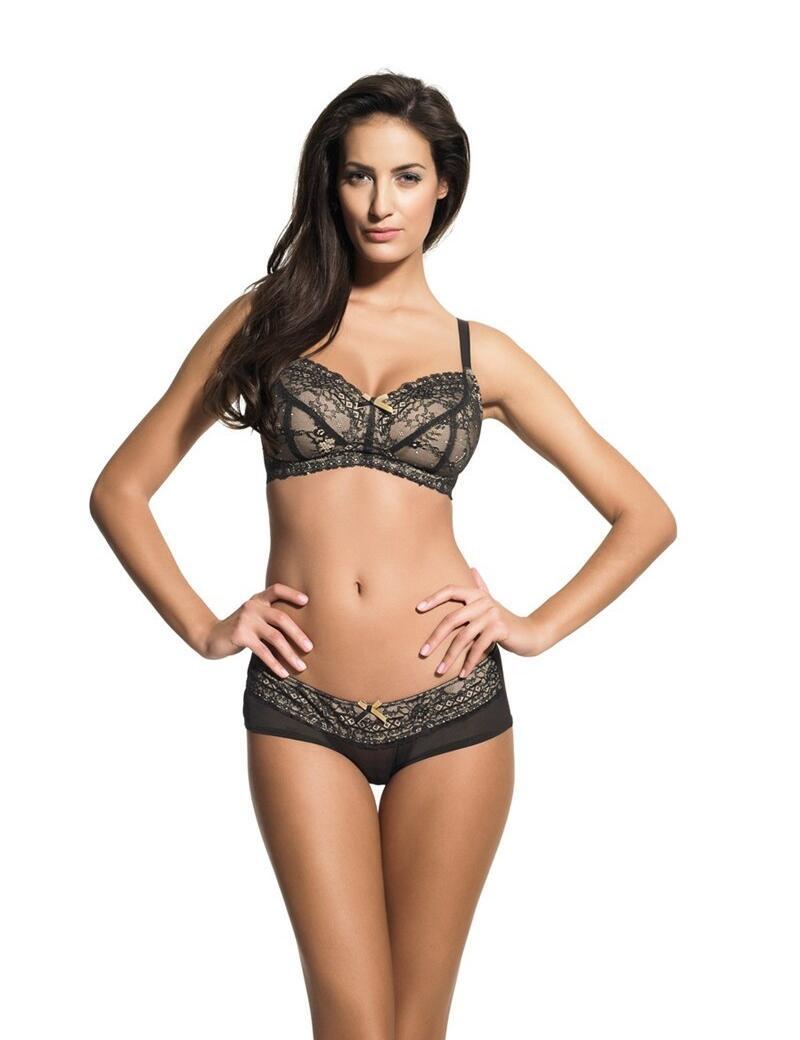 Panache Sophie Maternity : Support Bra - Black