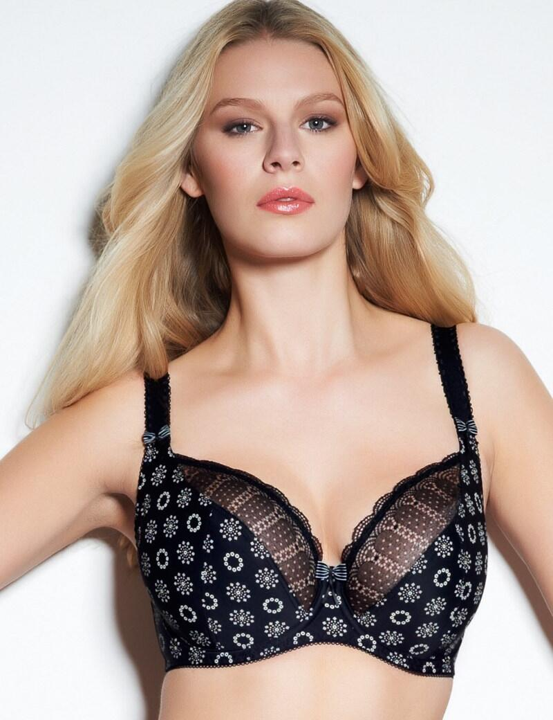 Freya Faye : UW Balcony Bra 50% OFF - Black