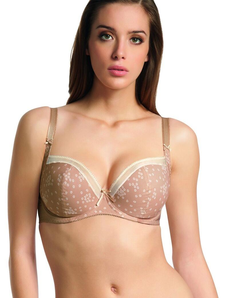 Freya Marvel: Side panel 50% Off - Nude