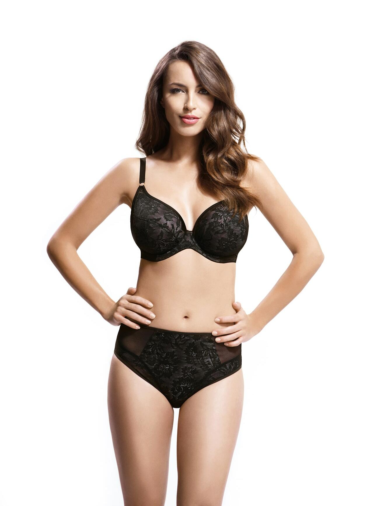 Panache Idina: Brief - Black
