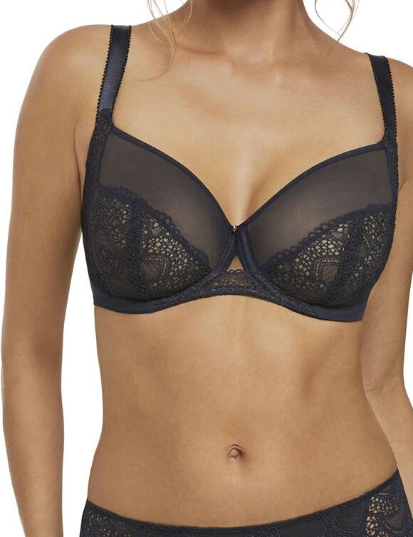 Fantasie Twilight: Side Support Bra - Ink
