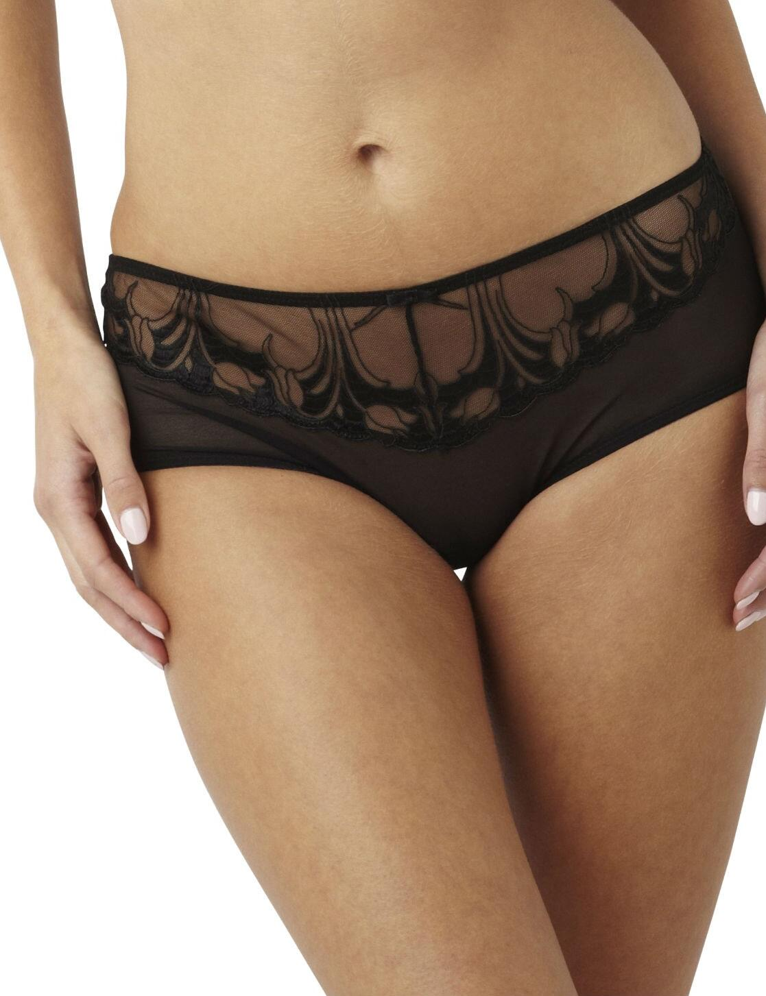 Panache Dahlia : Brief - Black
