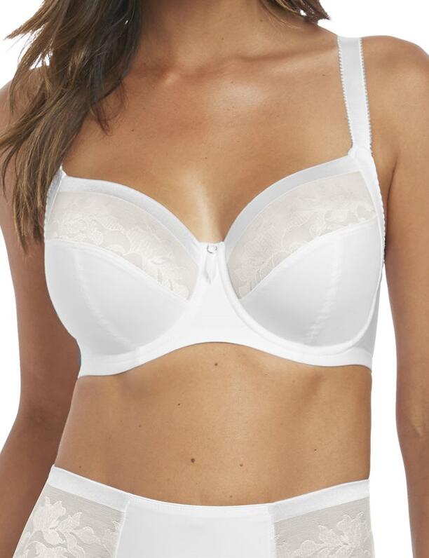 Fantasie Illusion : Side Support Bra - White