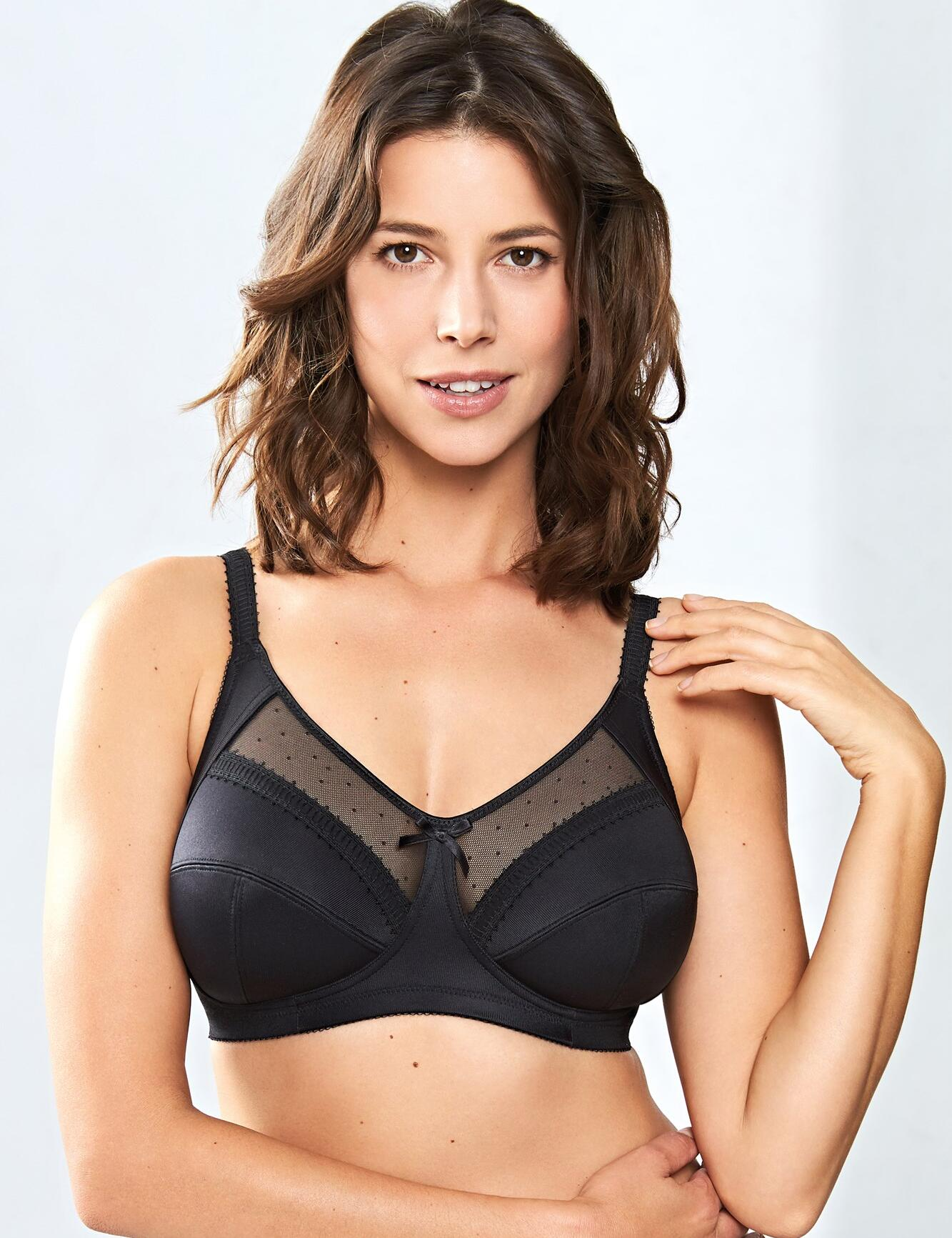 Royce Charlotte : Non- wired Full Cup Bra  - Black