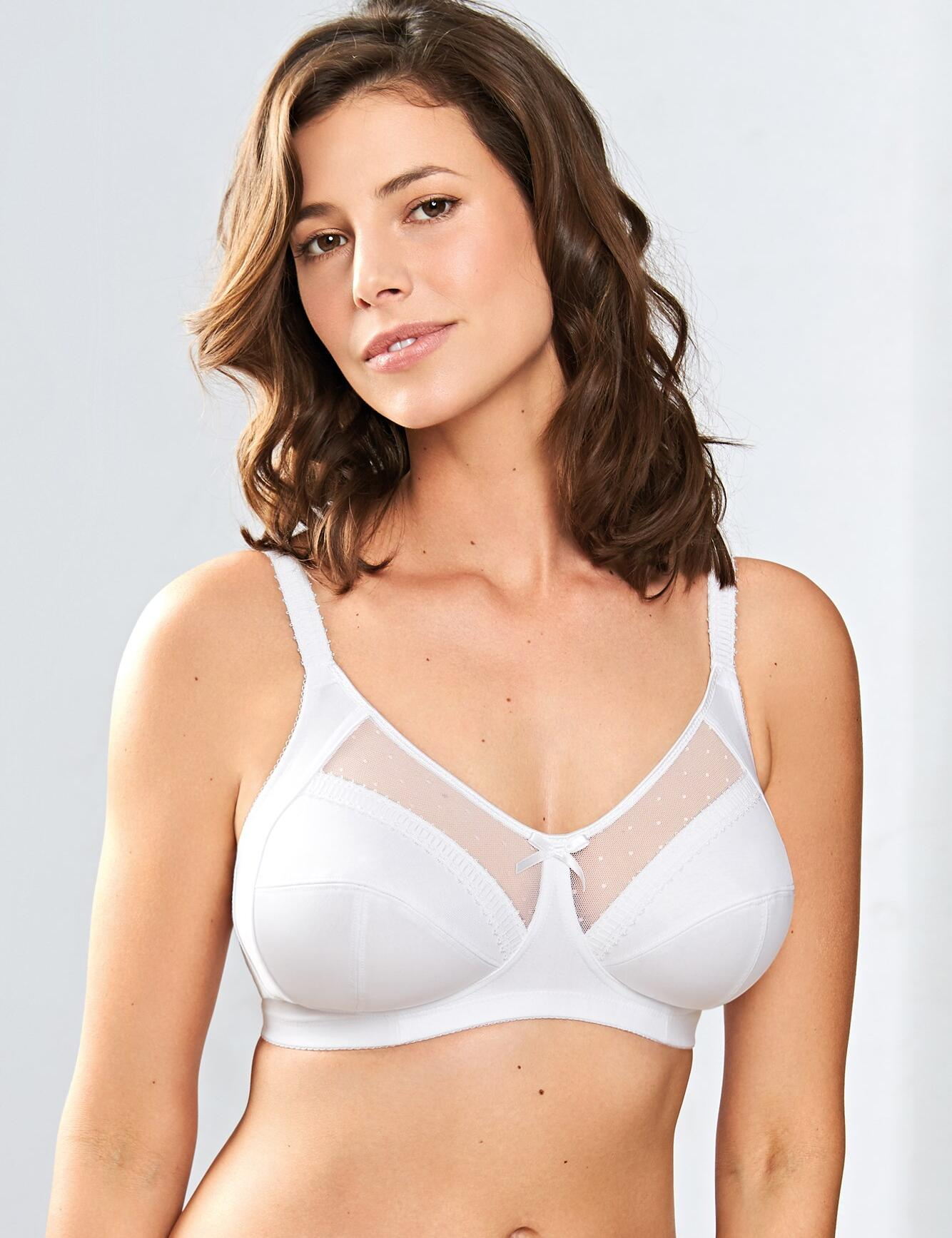 Royce Charlotte : Non- wired Full Cup Bra  - White