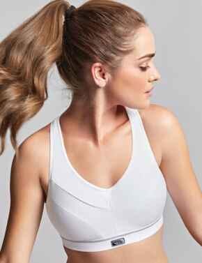 Royce Impact Free : Flex Fit Sports Bra - White