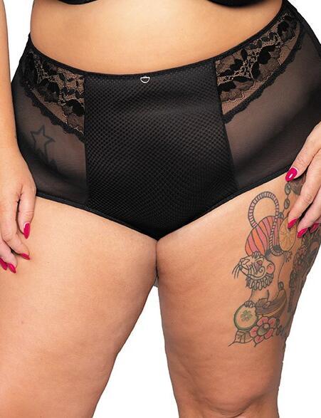 Curvy Kate Delightful: High Waist Brief - Black