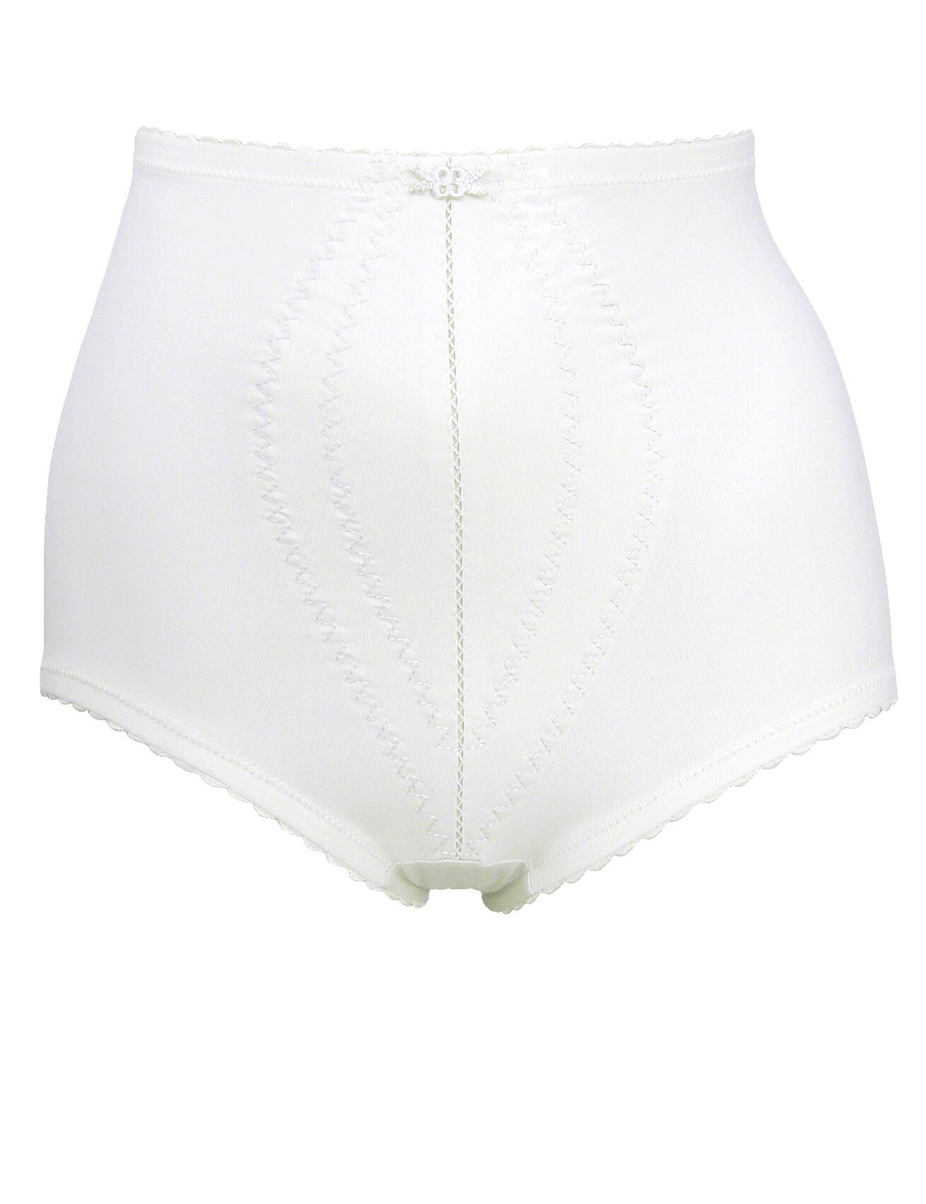 Playtex I Can't Believe it's a Girdle : Firm Control Brief P2522 - White
