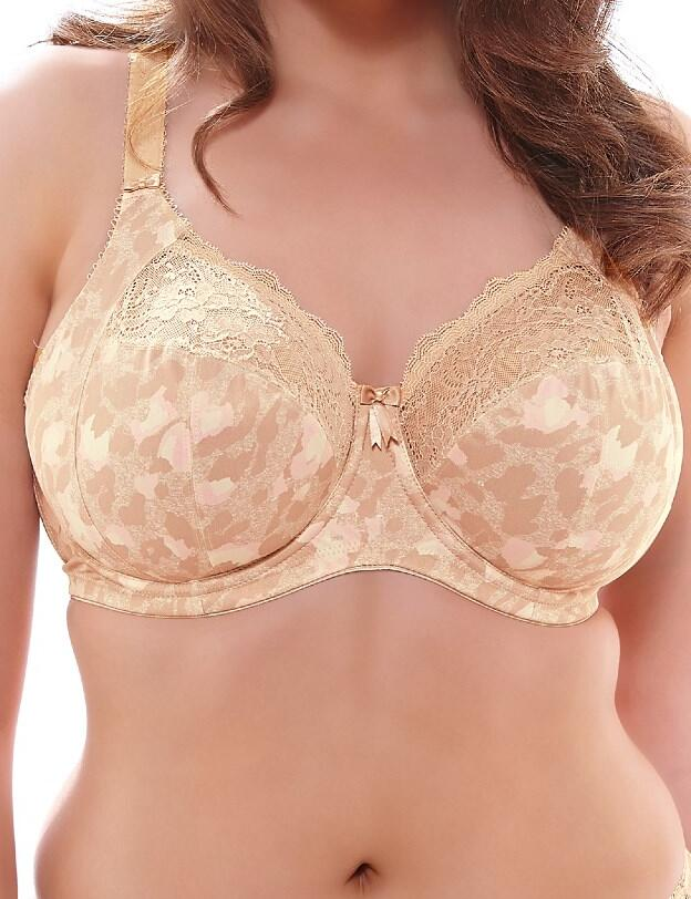 Elomi Morgan : Underwired Banded Bra EL4110 - Toasted Almond