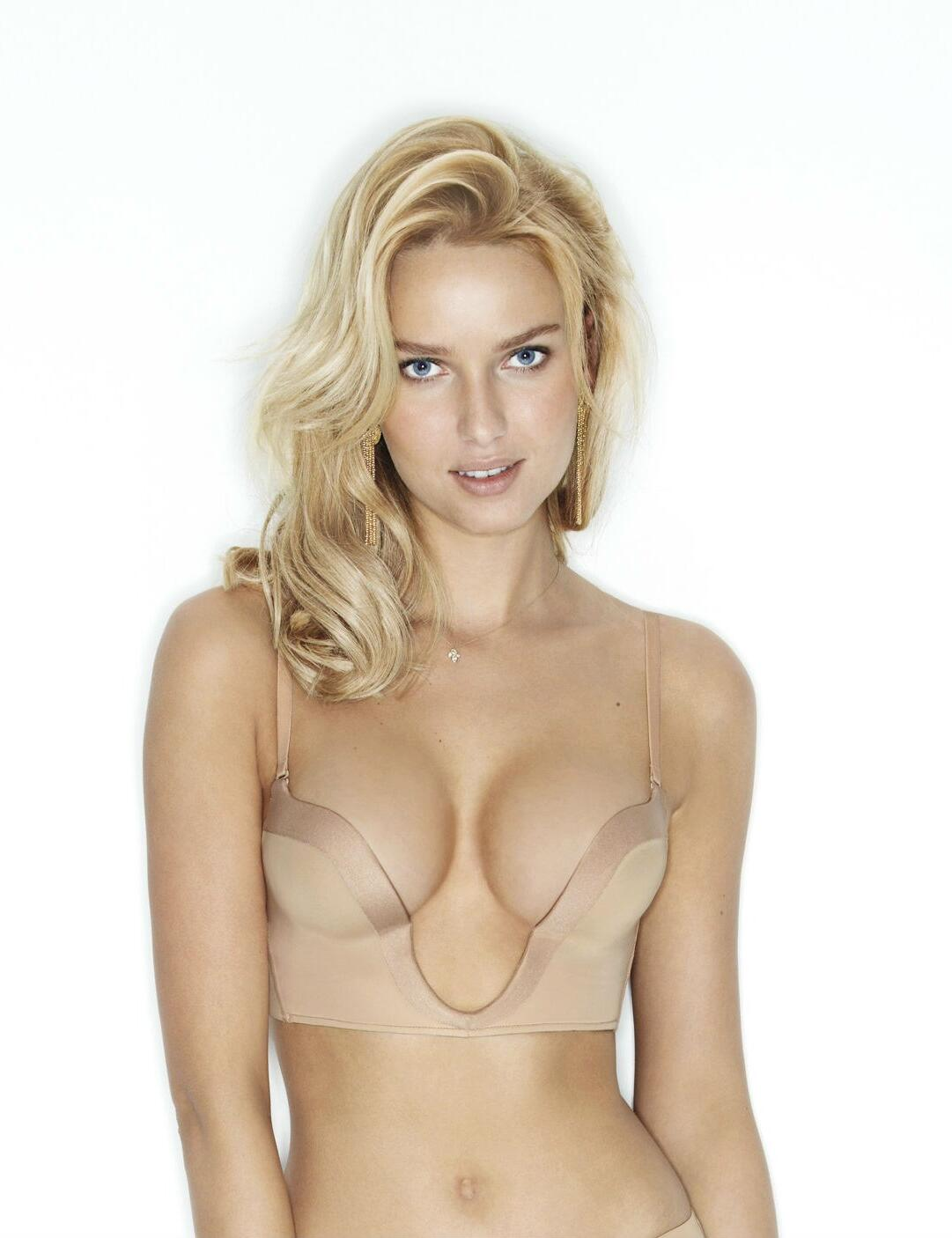 Wonderbra Ultimate Plunge : W00J5 - Beige