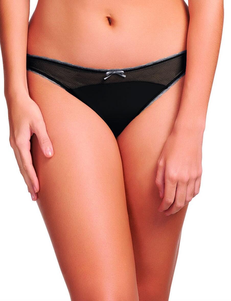 Freya Deco Vibe : Brazilian Thong AA1707 - Black