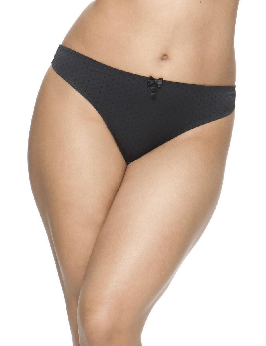 Curvy Kate Luxe: Thong - Black