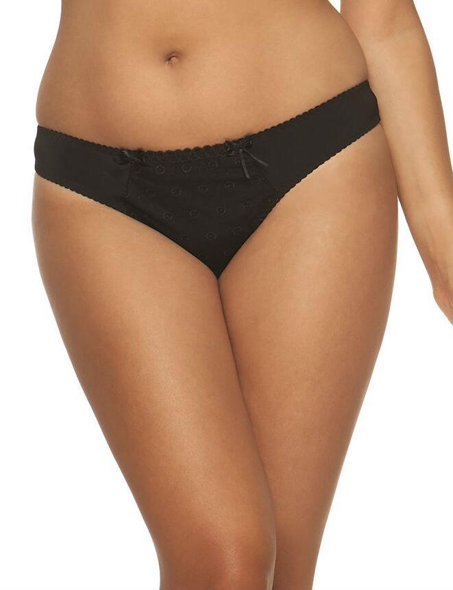 Curvy Kate Dreamcatcher: Thong - Black