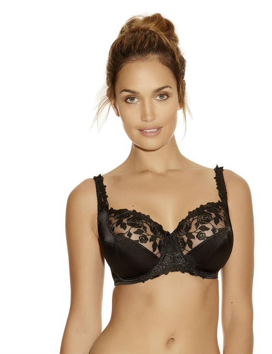 Fantasie Belle: Underwired Balcony Bra 6010 - Black