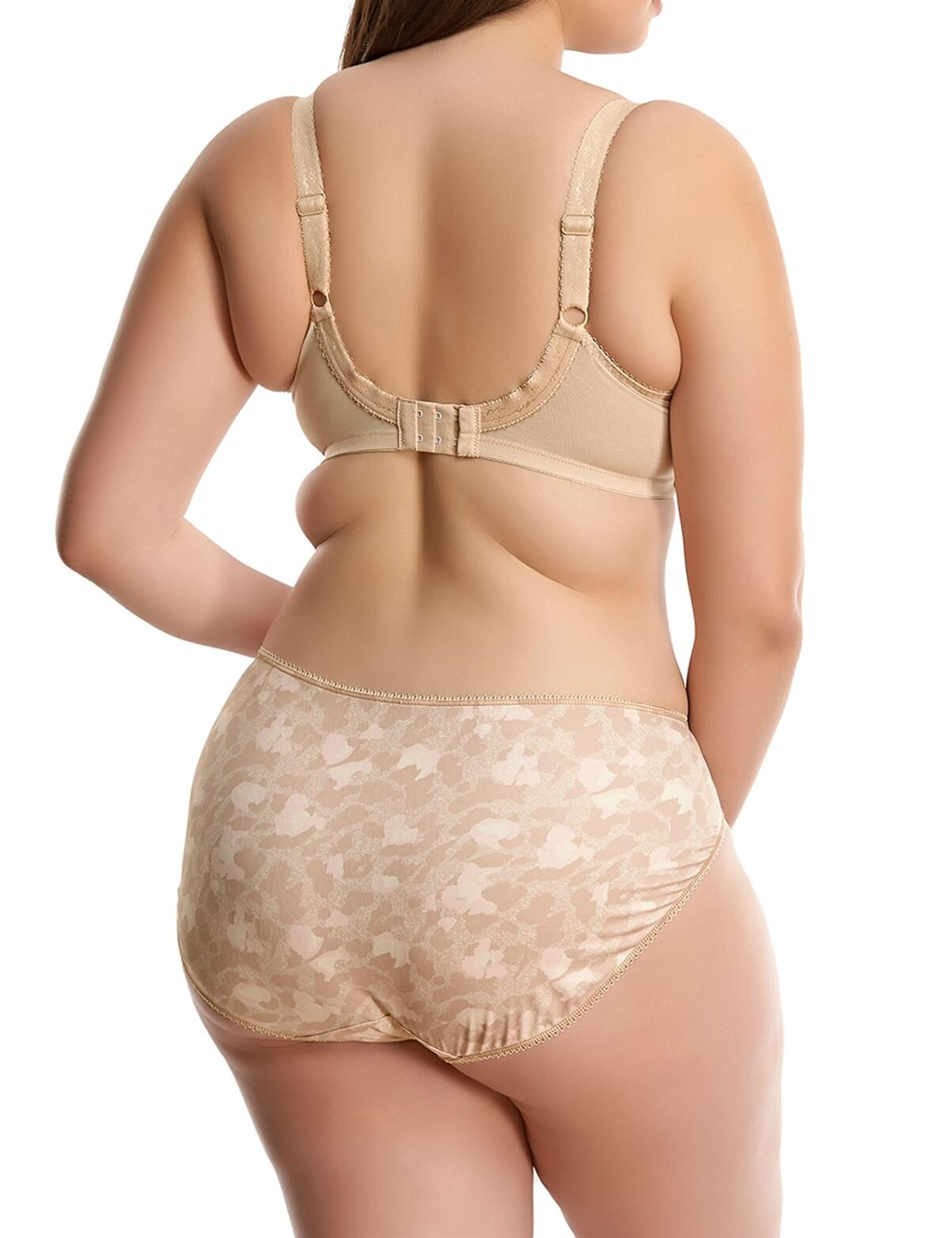 Elomi Morgan: Underwired Banded Bra - Toasted Almond