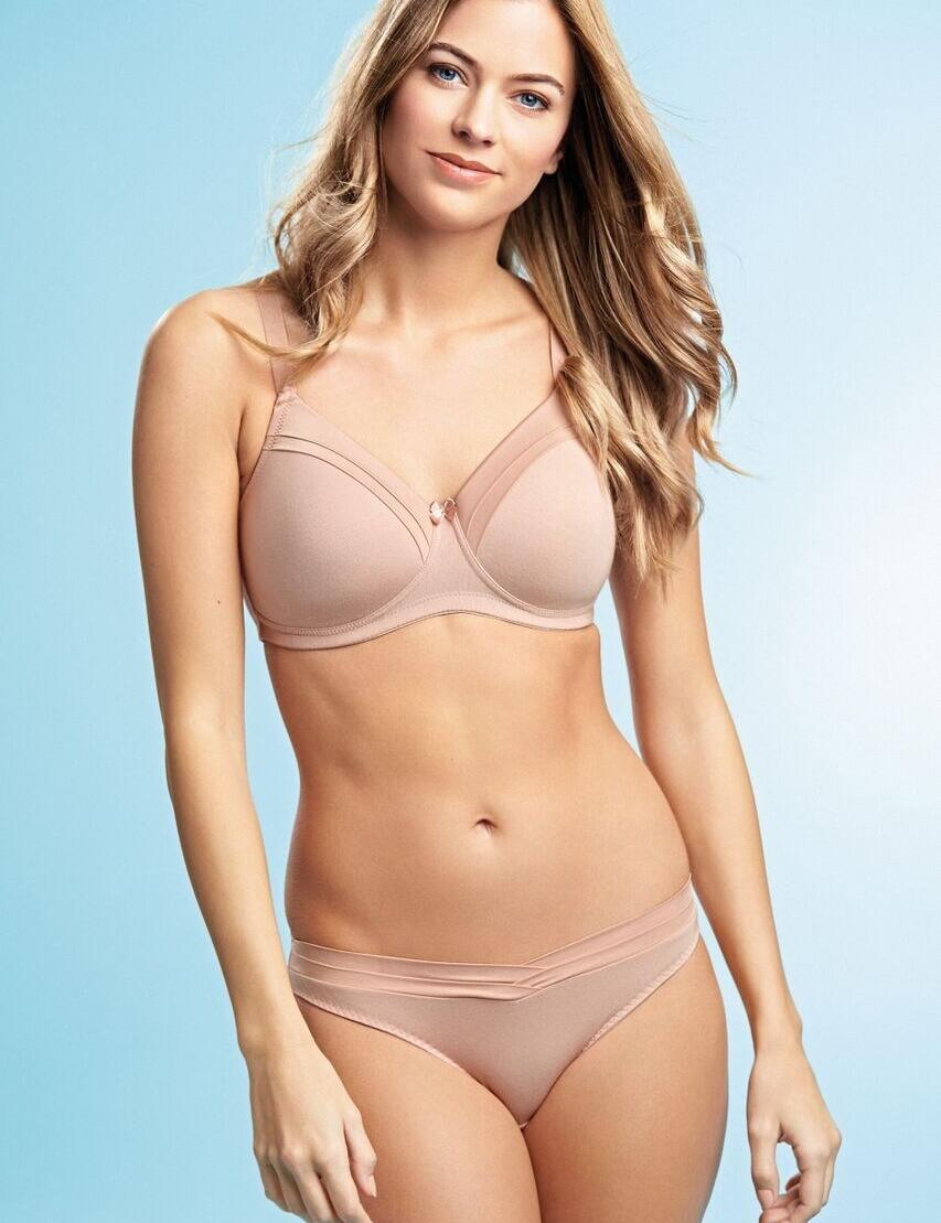 Royce: Maisie non-wired T-Shirt Bra - Blush