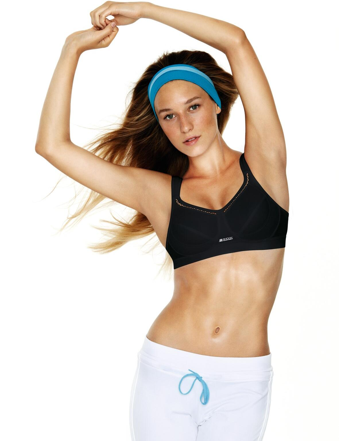 Shock Absorber : S102 Active Classic Sports Bra - Black
