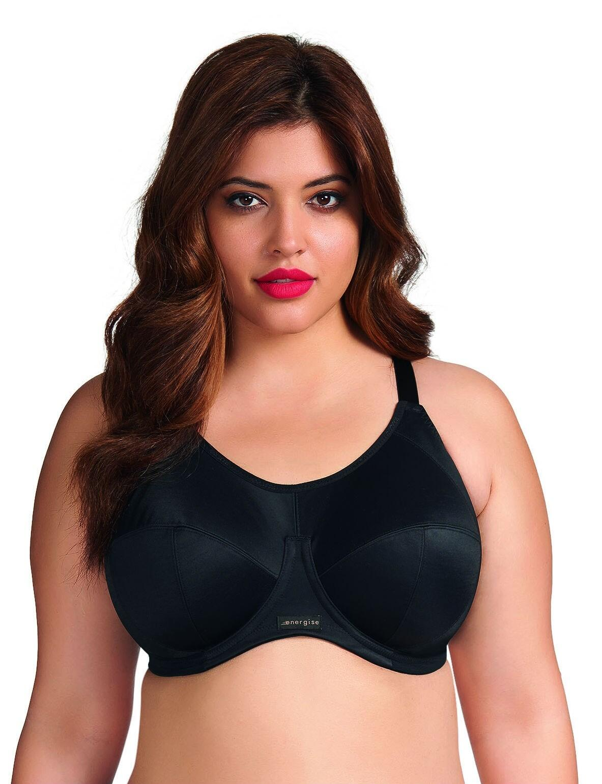 Elomi Energise New: Sports Bra - Black