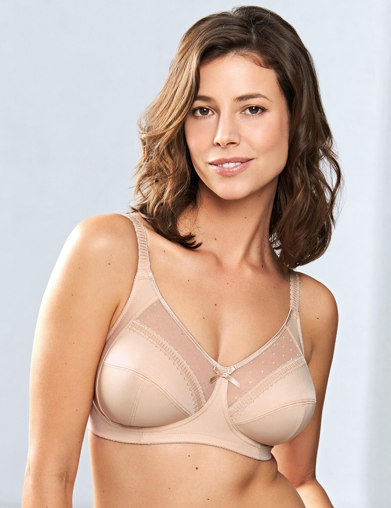 Royce Charlotte : Non- wired Full Cup Bra  - Nude