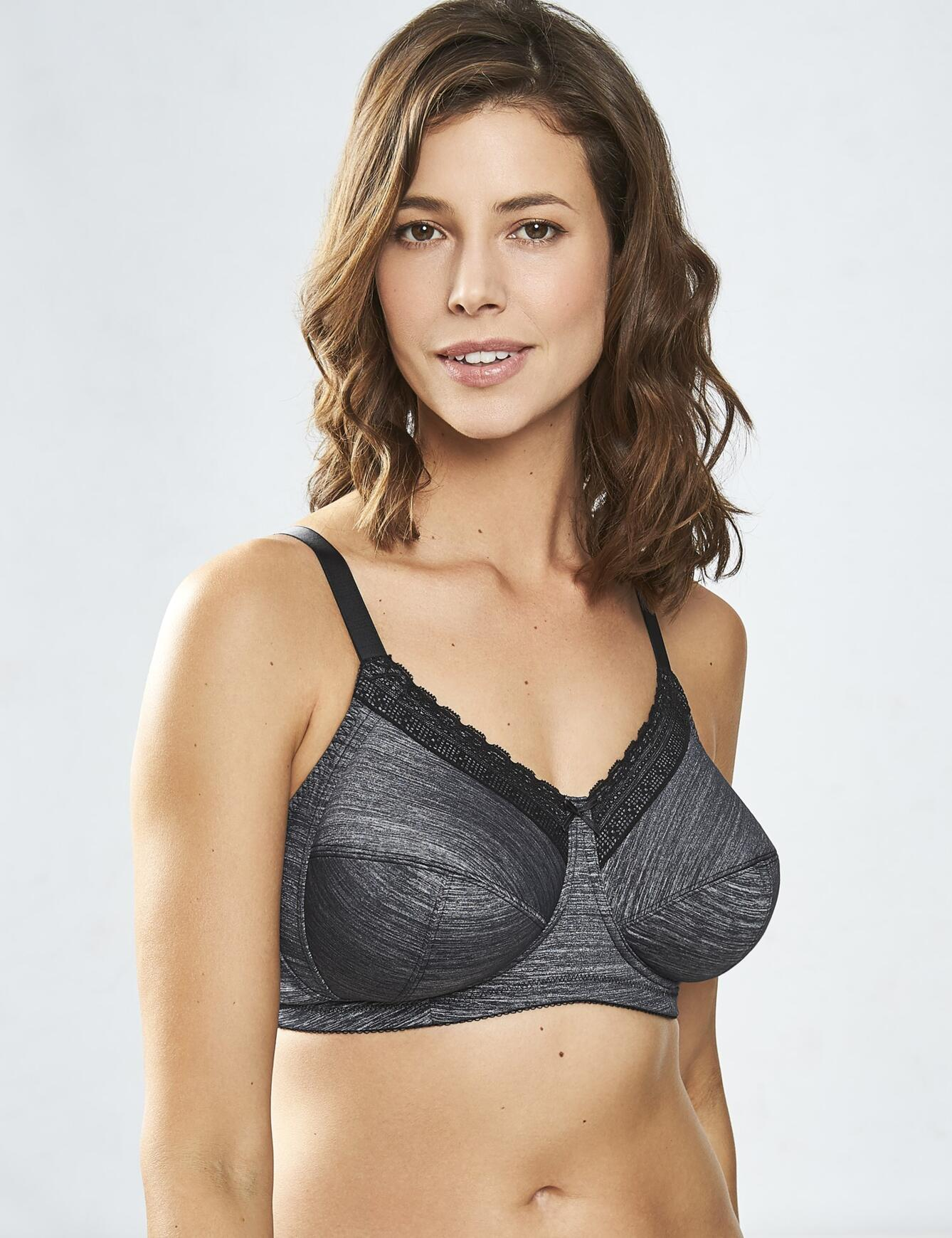 Royce Luna : Everyday Bra - Grey Marl