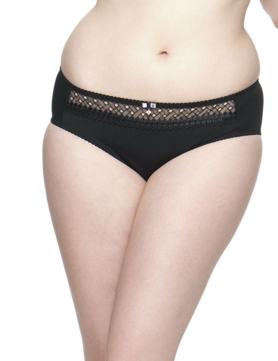 Curvy Kate Gia : Thong - Black