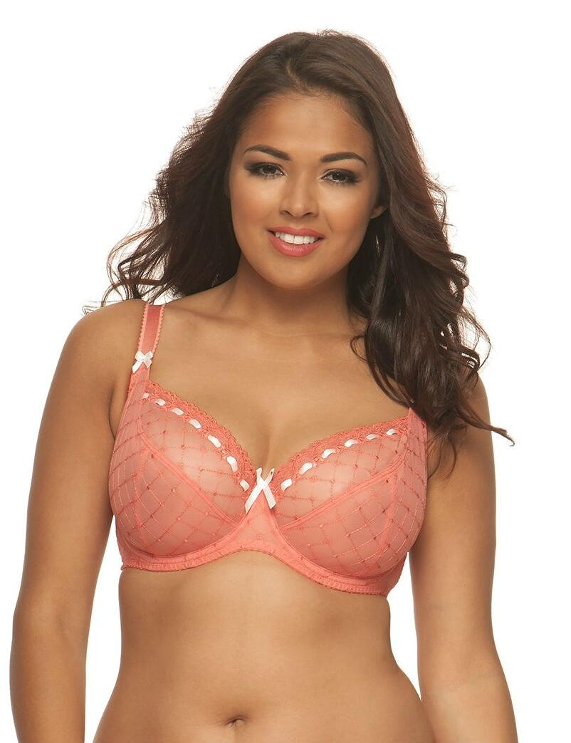 Curvy Kate Portia : Balcony Bra 50% OFF - Spice/ Snow